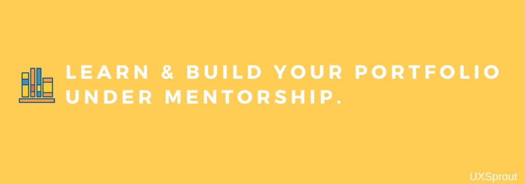 Develop your portfolio