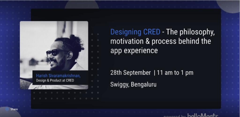 Cred Design Event